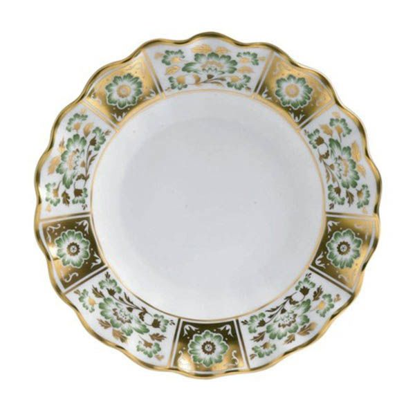 Тарелка Royal Crown Derby Panel Green 22 см
