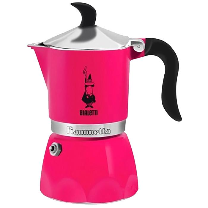 Кофеварка гейзерная Bialetti Fiammetta цвета фуксия