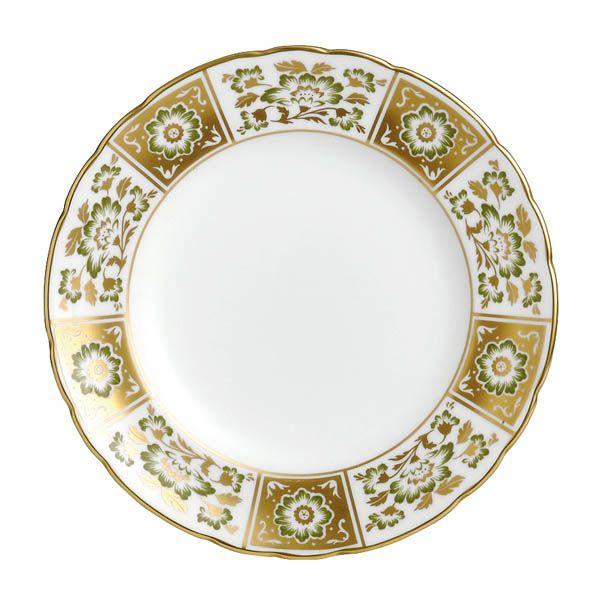 Тарелка Royal Crown Derby Panel Green 21.5 см