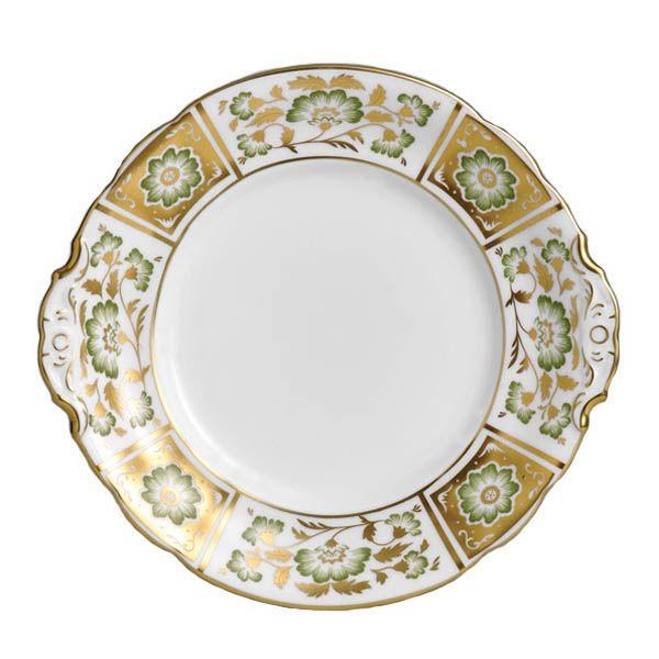 Тарелка для хлеба Royal Crown Derby Panel Green 23 см