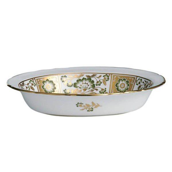 Глубокая тарелка Royal Crown Derby Panel Green 21.3 см