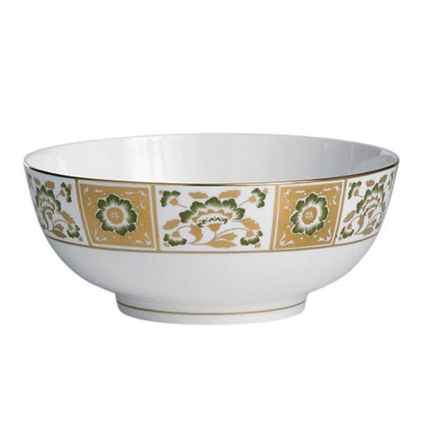 Салатник Royal Crown Derby Panel Green 24.5 см