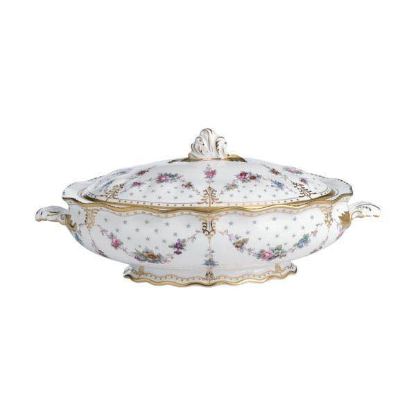 Блюдо с крышкой Royal Crown Derby Antoinette 2 л
