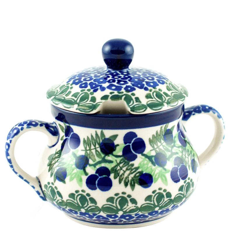 Сахарница Ceramika Artystyczna Ягодная поляна большая