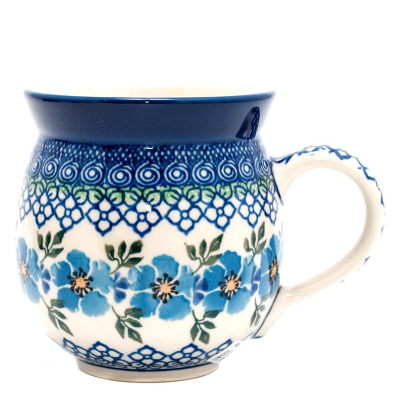 Набор кружек Ceramika Artystyczna Анютины глазки 6шт