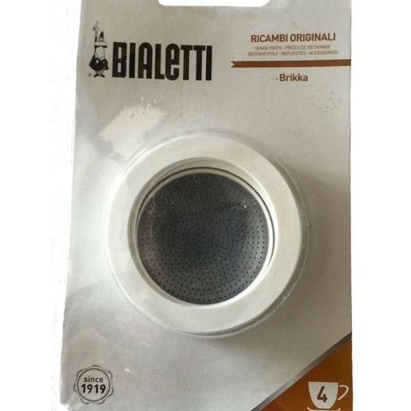 Набор 3 уплотнителя и сито для кофеварок Bialetti Brikka (4 чашки)