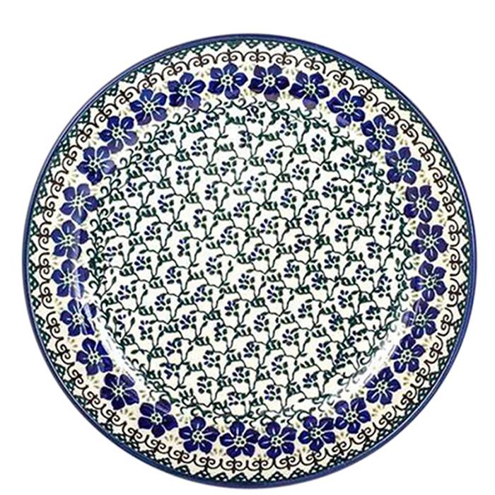 Тарелка Ceramika Artystyczna Фиалки