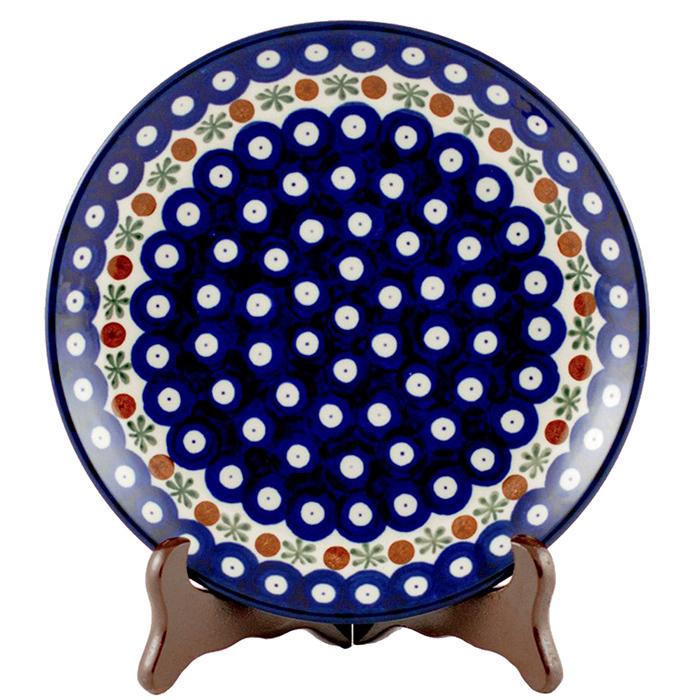 Набор десертных тарелок Ceramika Artystyczna Волшебная синева