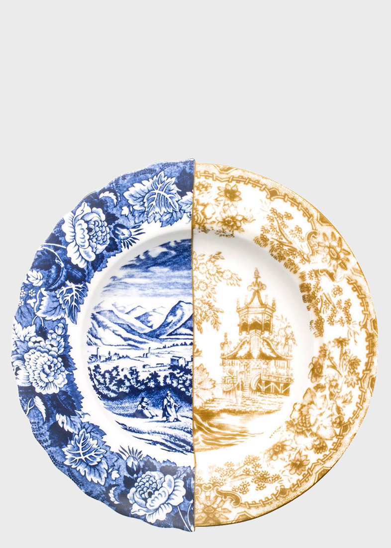 Суповая тарелка Seletti Hybrid Sofronia из фарфора