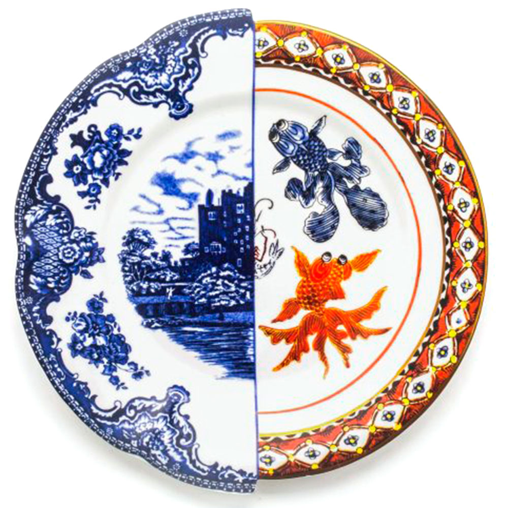 Обеденная тарелка Seletti Hybrid Isaura