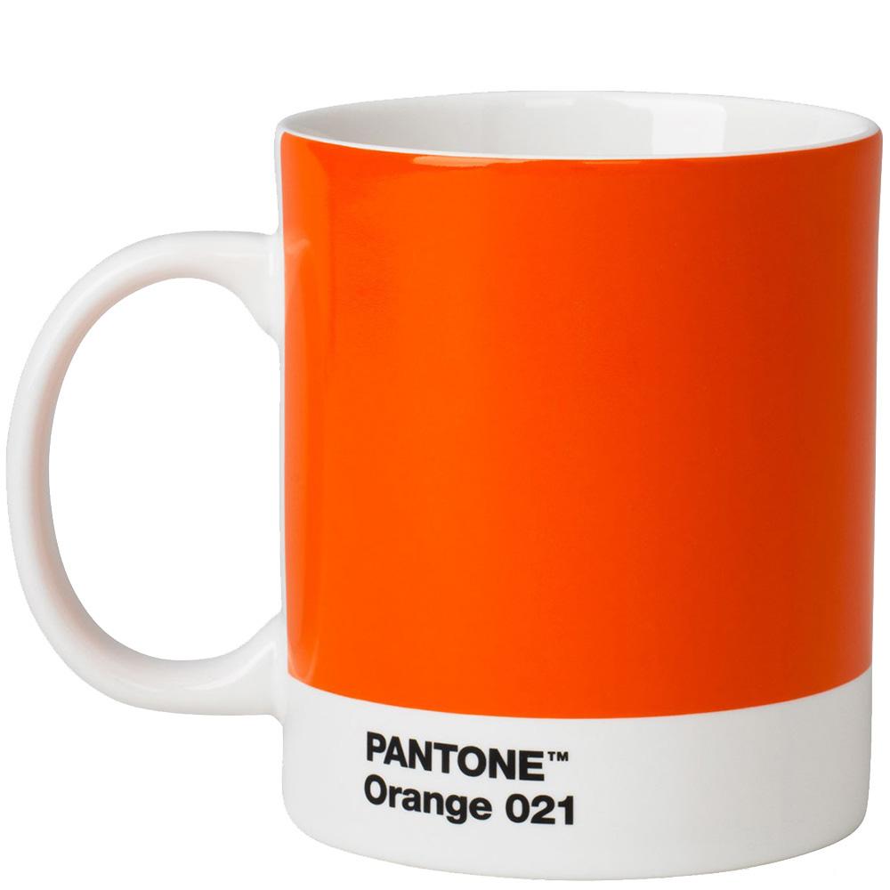 Чашка для чая и кофе Pantone Orange 021