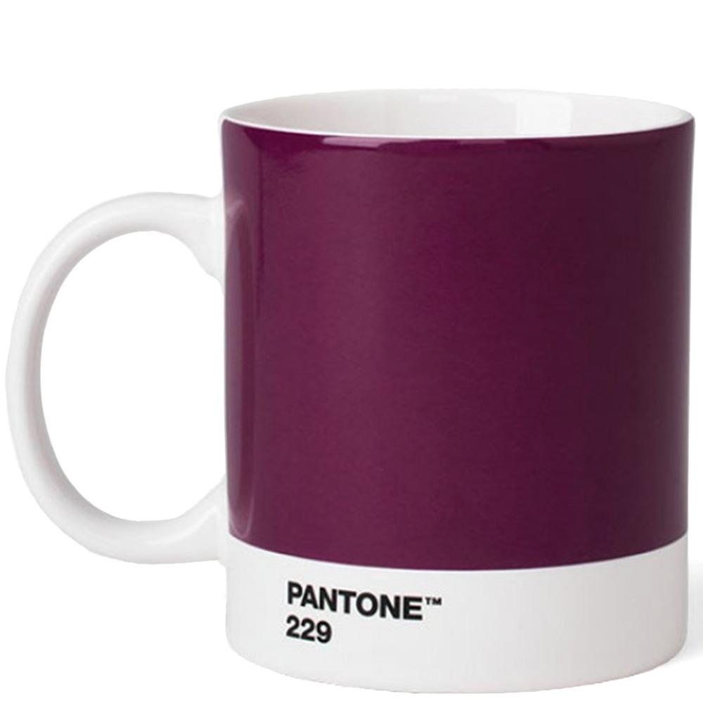 Чашка Pantone Aubergine 229 из керамики
