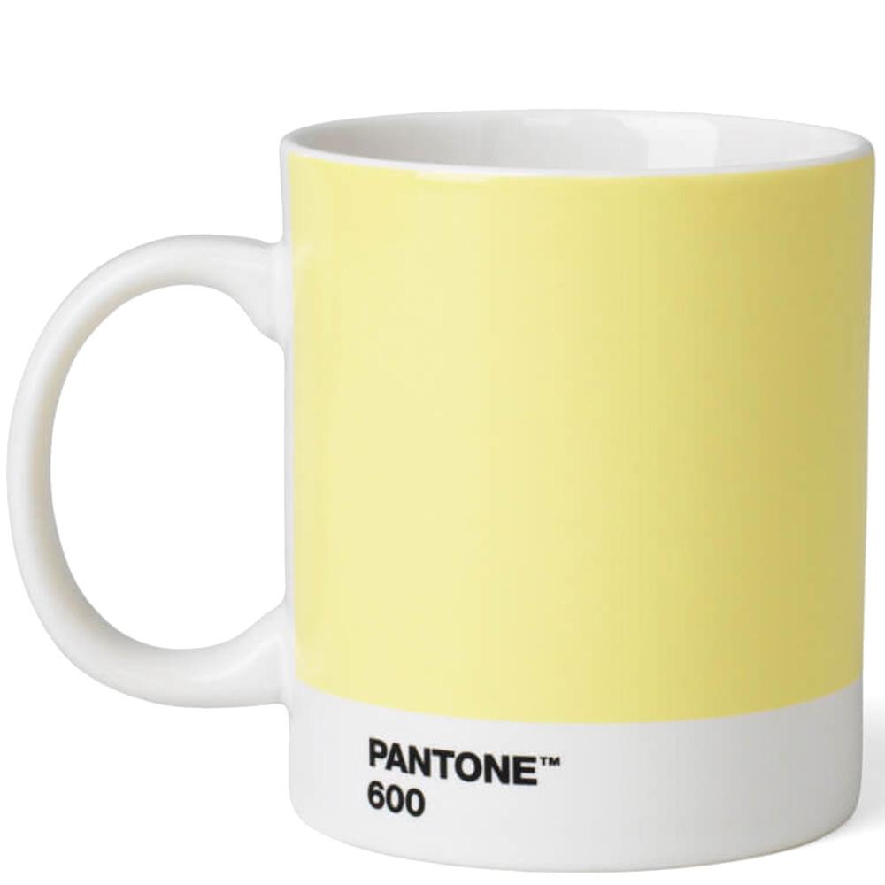 Светло-желтая кружка Pantone Light Yellow 600