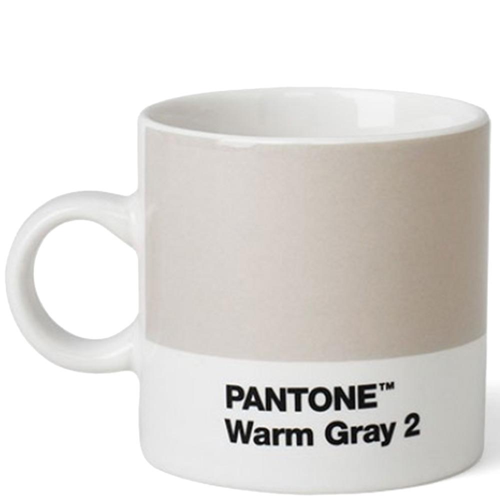 Чашка для эспрессо Pantone Warm Gray 2 из керамики