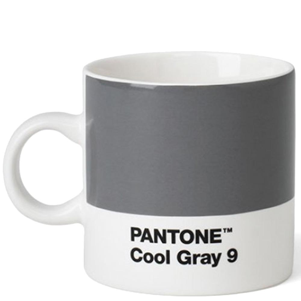 Серая чашка Pantone Cool Gray 9 для кофе 120 мл