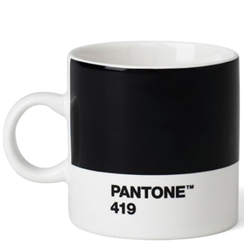 Черная кофейная чашка Pantone Black 419 120 мл