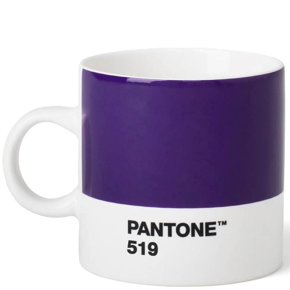 Чашка для эспрессо Pantone Violet 519 из керамики 120 мл