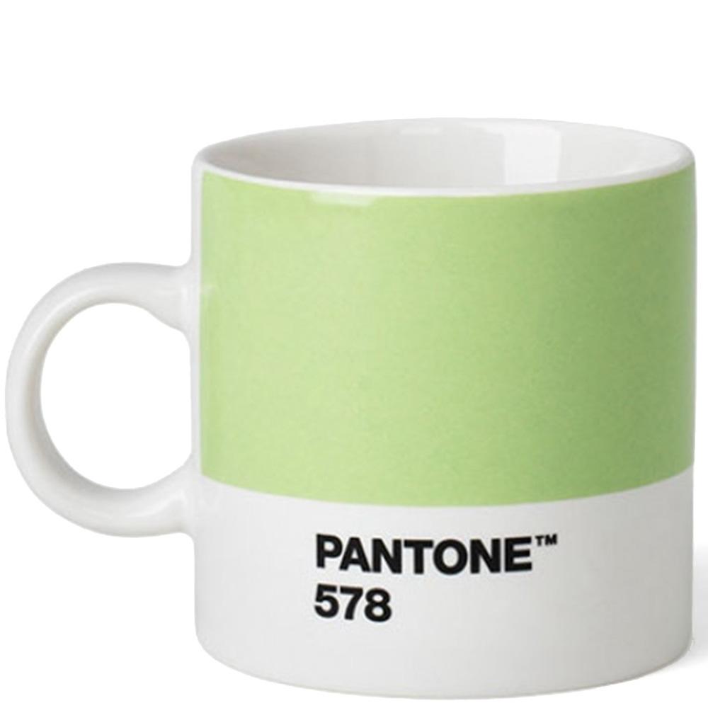 Керамическая чашка эспрессо Pantone Light Green 578
