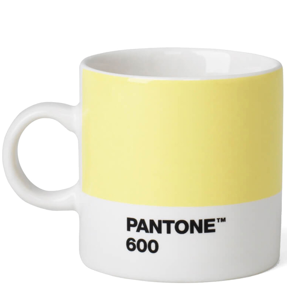 Чашка эспрессо Pantone Light Yellow 600 120 мл