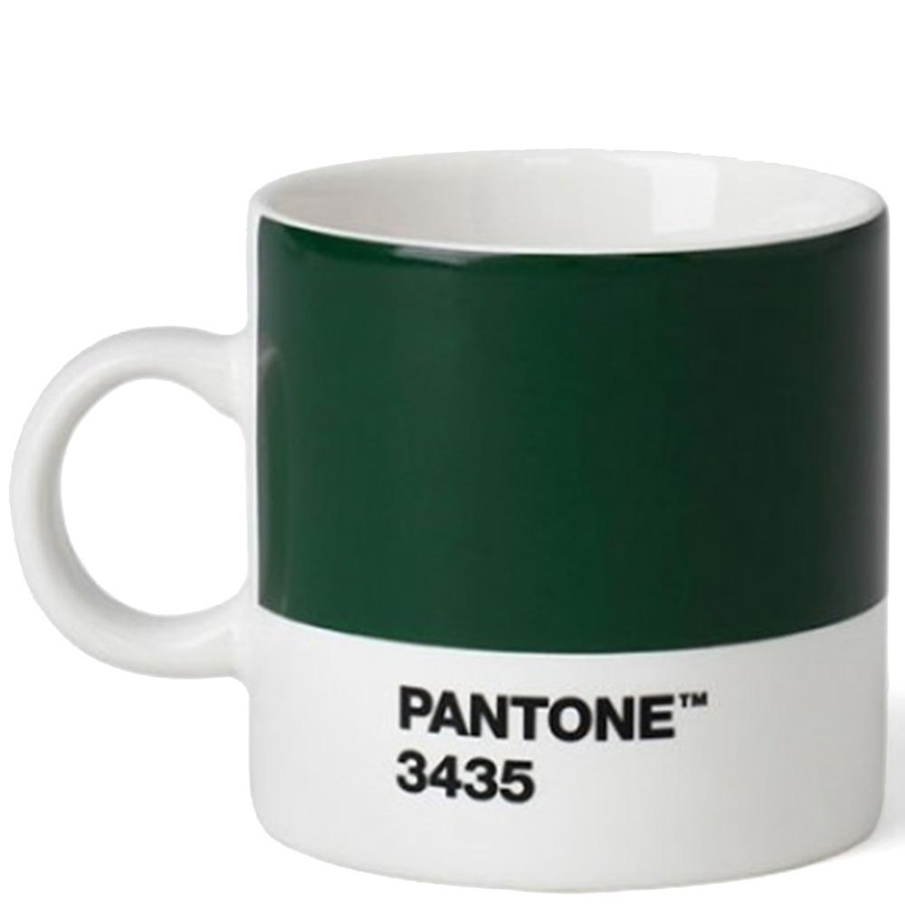 Чашка темно-зеленая Pantone Dark Green 3435