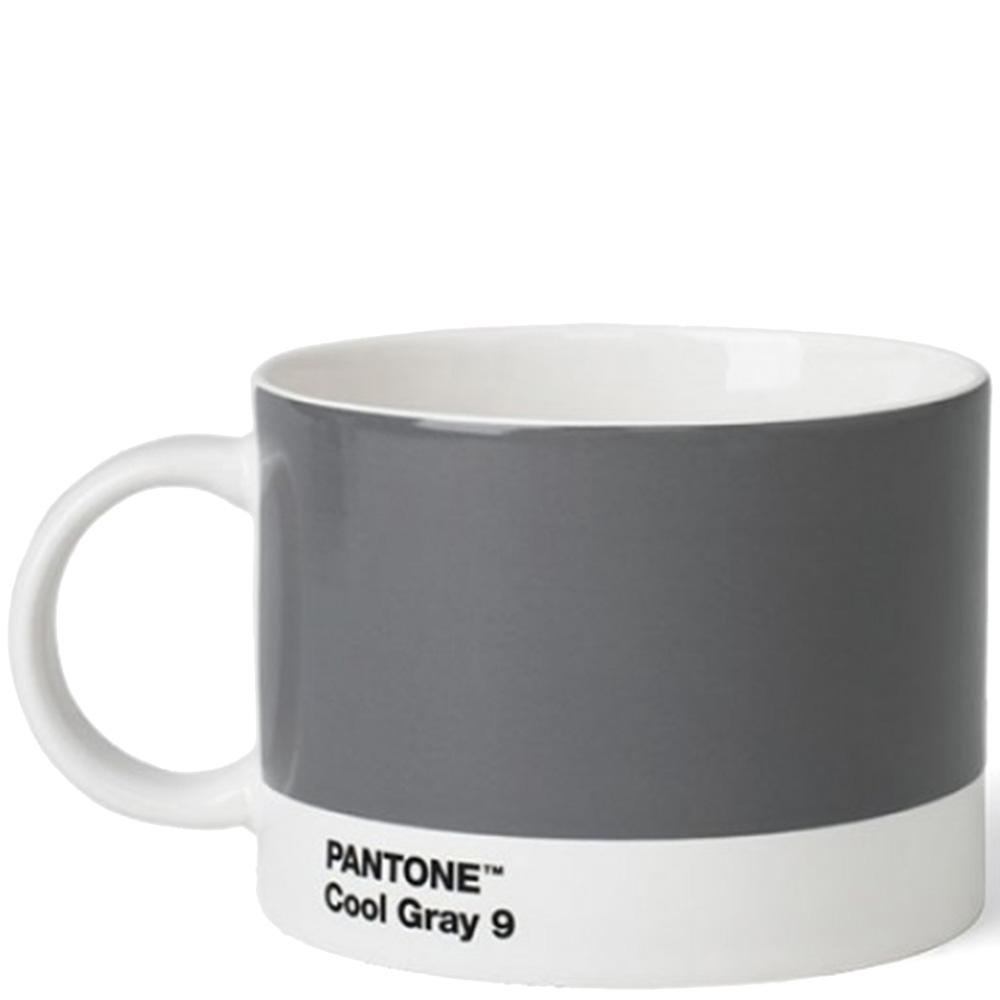 Чашка из керамики Pantone Cool Gray 9 серого цвета