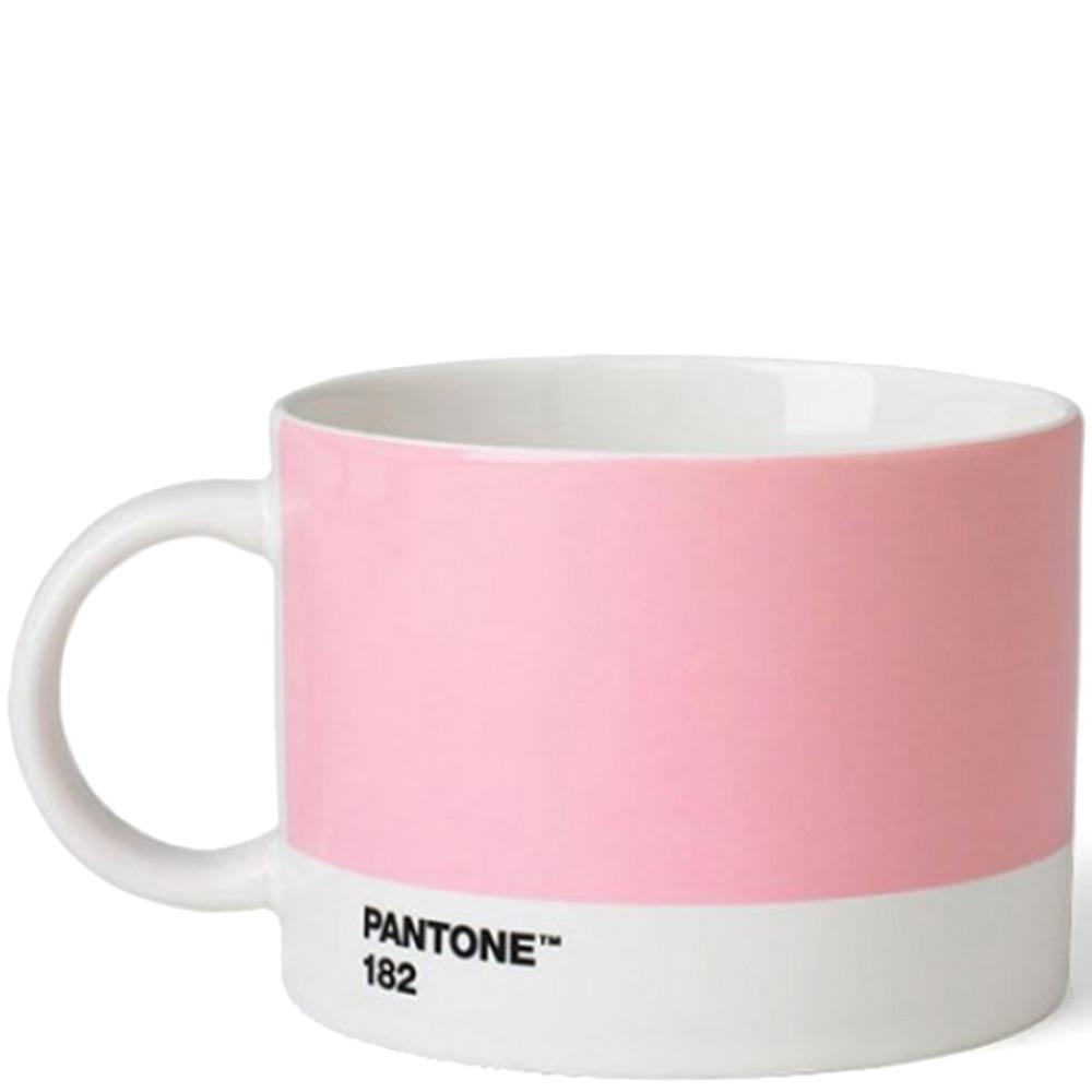 Розовая керамическая чашка Pantone Light Pink 182