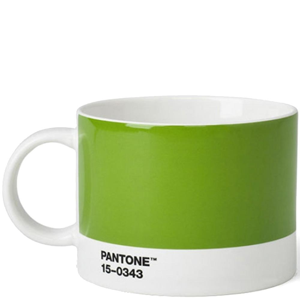Керамическая чашка Pantone Green 15-0343