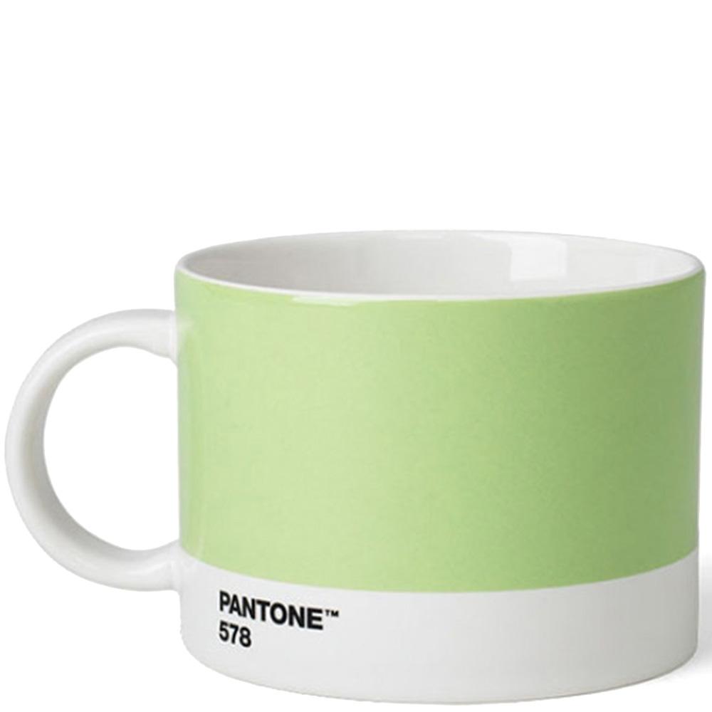 Чашка для чая Pantone Light Green 578 из керамики 475 мл