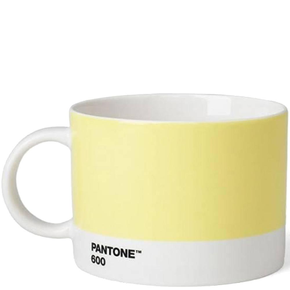 Чашка для чая Pantone Light Yellow 600 475 мл