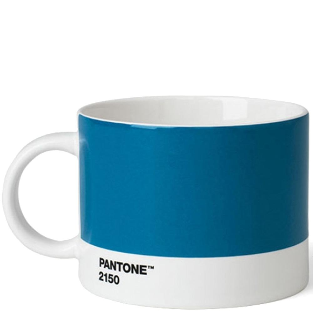 Голубая чашка для чая Pantone Blue 2150 475 мл