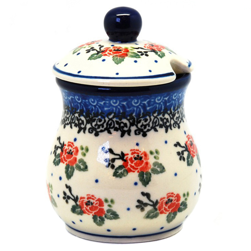 Банка для меда Ceramika Artystyczna Чайная роза
