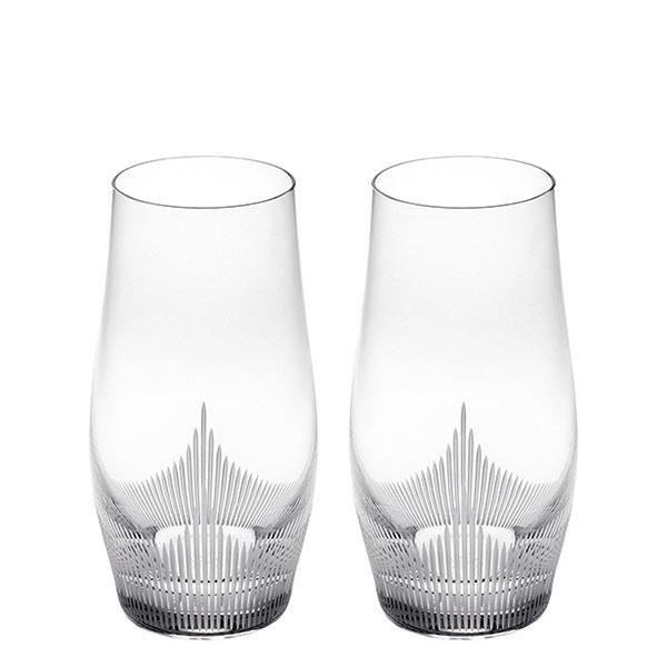 Хрустальные стаканы Lalique 100 Points с резным узором