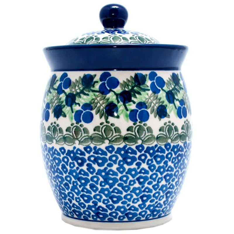 Ёмкость для сыпучих Ceramika Artystyczna Ягодная поляна