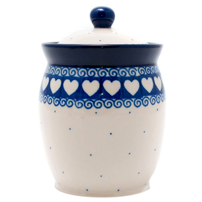 Ёмкость для сыпучих Ceramika Artystyczna Валентинки