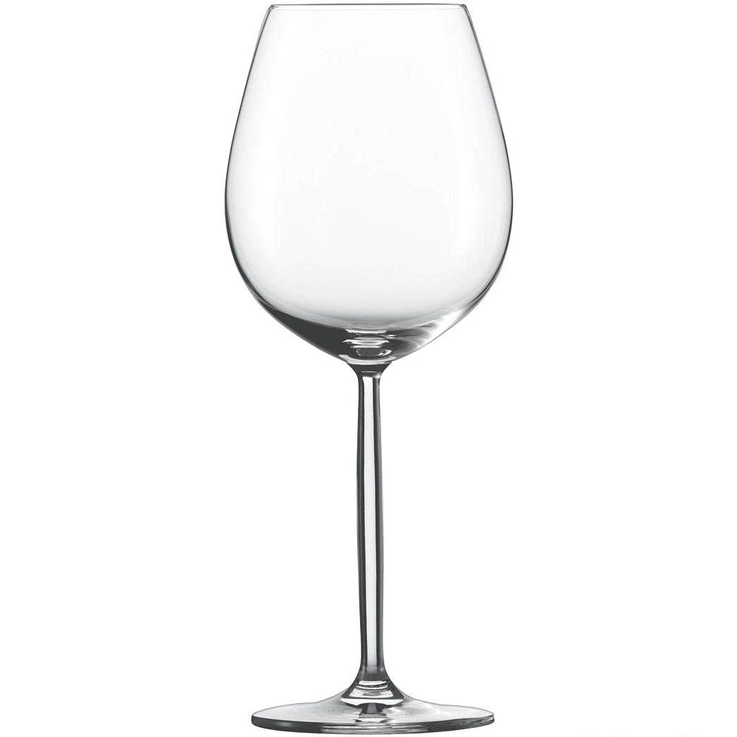 Бокал Schott Zwiesel Diva для красного вина или воды 613 мл из прочного хрустального стекла