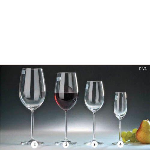 Набор бокалов Schott Zwiesel Diva для шери 109 мл из прочного хрустального стекла