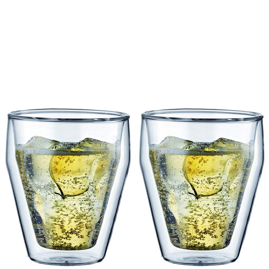 Набор из двух стаканов Bodum Titlis с двойными стенками 0,25л
