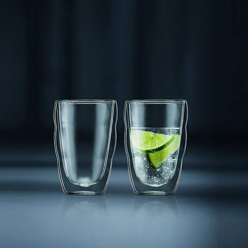 Набор из 2 стаканов Bodum Pilatus с двойными стенками 0,35л