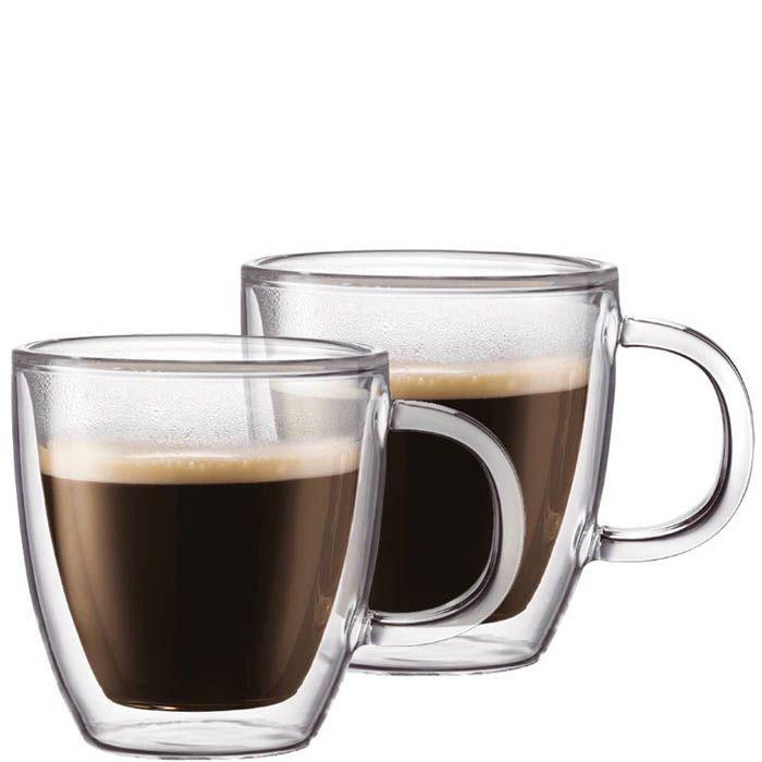 Набор из двух чашек Bodum Bistro для эспрессо 0,15 л