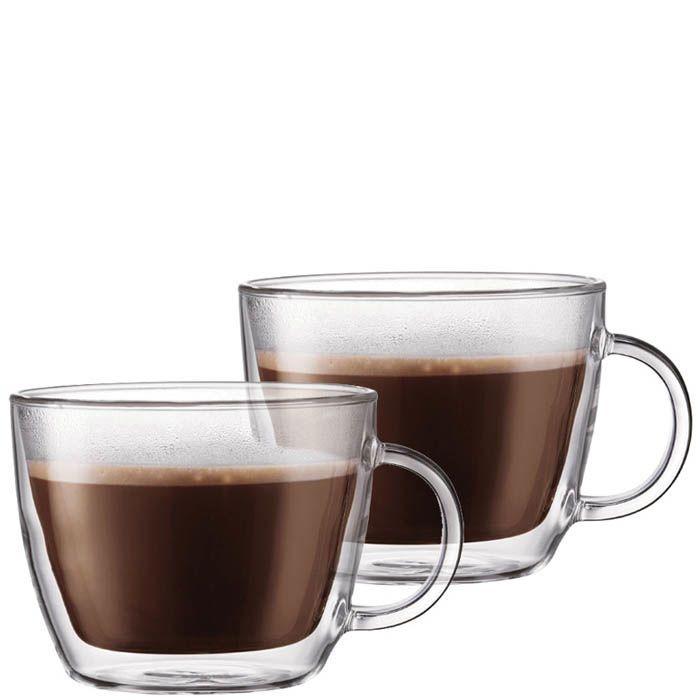 Набор из двух чашек Bodum Bistro для латте 0.45 л