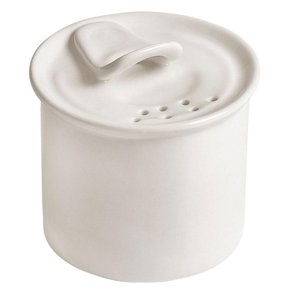 Белая солонка Seletti из фарфора