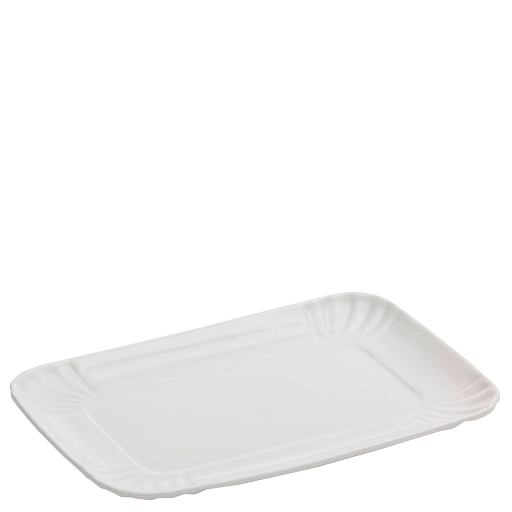 Блюдо из фарфора Seletti прямоугольной формы