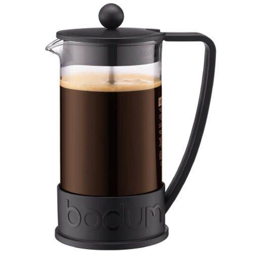 Кофейник Bodum Brazil френч-пресс черный 1л