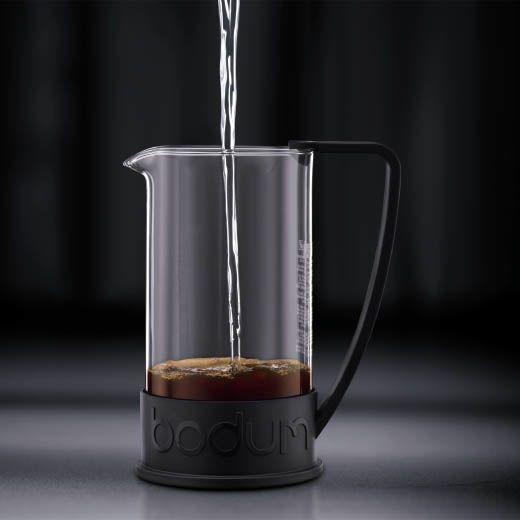 Кофейник Bodum Brazil френч-пресс черный 1,0л