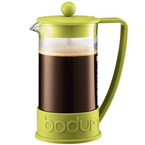 Кофейник Bodum Brazil френч-пресс зеленый 1л