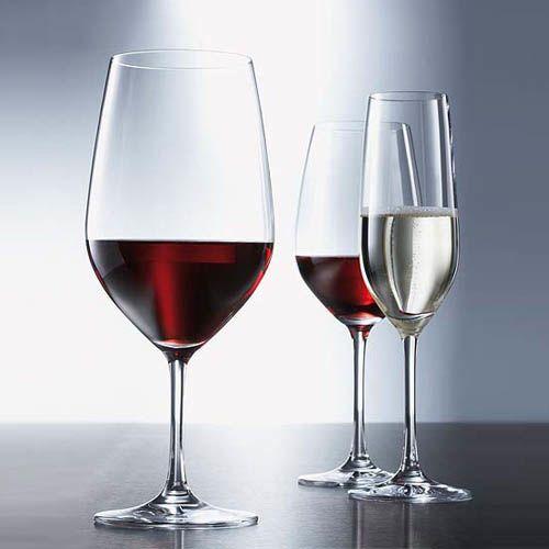 Набор бокалов Schott Zwiesel Vina для шампанского 227 мл из прочного Tritan