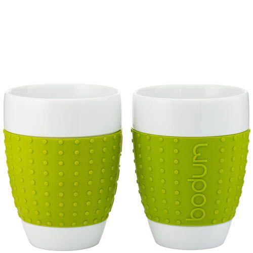 Набор из двух стаканов 0.4 л Bodum Pavina зеленый