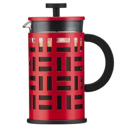 Кофейник Bodum Eileen красный 1 л