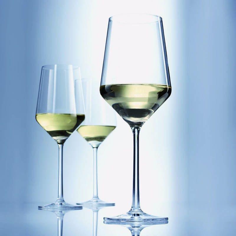 Бокал Schott Zwiesel Pure для белого вина 408 мл из ударопрочного хрустального стекла
