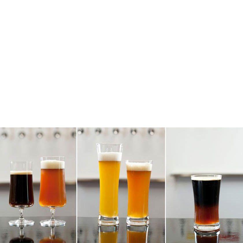 Набор бокалов Schott Zwiesel Beer Basic для пива 600 мл из ударопрочного хрустального стекла